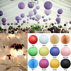 "6x 16""/40cm Round Paper Lanterns Party Chinese Birthday Wedding Decoration"