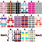 NAIL WRAPS STICKERS - Full Self Adhesive Polish Foils Decoration Art Decals -NEW on Rummage