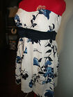 Speechless, Junior, Floral, Strapless Party Dress, sz 7 or 13 Retail 58.00  NWT