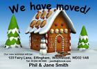 New Home / Change of Address Cards - A6 postcard size