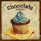 RETRO METAL PLAQUE :CHOCOLATE CUPCAKES sign/Ad