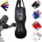 TurnerMAX Heavy Duty Double Angle Boxing Punch Bag Body Training Exercise MMA
