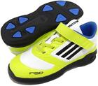 Adidas F50 infants yellow medium casual lace up velcro synthetic trainers size 3