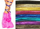 "100"" Metallic Thigh High Leg Wraps Straps Dance Rave Club Wear Festival 3022"