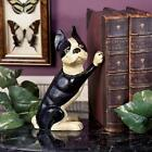 Boston Terrier Cast Iron Statue Door Stop Bookend Home Decor Products & Dog Gift