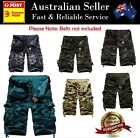 Mens Cargo Shorts Army Combat Camo Military Board shorts - Excellent Quality