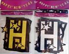 """1 x 90"""" / 2.2m Glitzy Sparkle Silver Or Gold Happy New Years Party Garland New"""