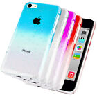 Accessories For Apple iPhone 5C Stylish 3D Rain Drop Hard Case Cover + Film