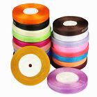 25 Yards 12mm Wedding Party Christmas gifts Decor Craft Organza Ribbon