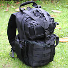 Tactical Gear Sling Single Shoulder Camping Backpack Rucksack Bag Day Pack