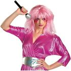 Jem Wig Adult Jem & The Holograms Halloween Costume