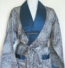 Mens Silk Satin Pajamas Kimono Robe Gown Loungewear US S M L XL,2X to 5X pattern фото