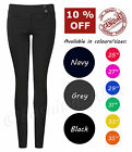 2 Button Super Skinny Black Size 4, 6,8,10,12,14,16 Inside Leg 25 27 29 31 33 35