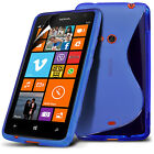Case for Nokia Lumia 625 ,S Line Wave Gel + FREE Screen Protector (7 Colours)