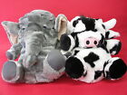 3D NOVELTY SLIPPERS BOOTS LADIES OR YOUTHS ELEPHANT OR COW