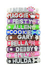 Croc Rhinestone Dog Pet Cat Puppy Personalized Collar Crystal Name size S M L