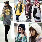 Womens Slim Warm Cotton Zipper Hoodie Vest Hat Cap Waistcoats Coats Outwear WST