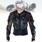 Motorcycle Motocross Full Body Chest Shoulder ARMOR PROTECTOR Jacket Black NEW