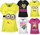 Junior Disney Despicable Me 2 Minion The Movie T-Shirt Tee Short Sleeve Licensed