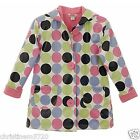 GIRLS POLKA DOT HARTSTRINGS RAINCOAT RRP £30 AGE 4T,5-6,6X