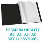 Premium A5/A4/A3/A2 Black Display Book Presentation Folder Portfolios (Tiger)