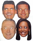 The X Factor Celebrity Face Masks incl Mel B Great for Parties - 1st Class Post