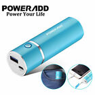 Poweradd Slim 2 5000mAh Power Bank USB Portable Charger for Apple iPhone X XR XS
