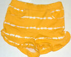 Gymboree Girl's Tropical Bloom Yellow Tye-Dye Shorts Sizes 3M-24M