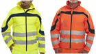 NEW Hi-Viz SOFT SHELL JACKET - YELLOW / ORANGE   SMALL- 5XL