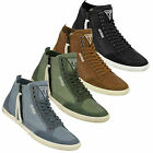 GUESS Victor Leather Sneaker High Tops