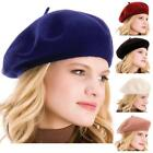 New Arriver Fashion French Artist Beret Soft Warm Colorful Beanie Tam Hat Caps
