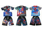 Spiderman Spider-man Outfit Set T-Shirt+Shorts Size S-XL age 3-10