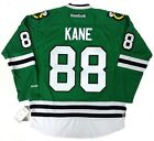 PATRICK KANE CHICAGO BLACKHAWKS GREEN ST PATRICKS DAY REEBOK JERSEY