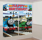 Thomas & Friends Party Giant 5pc Happy Birthday Scene Setter 6ft