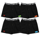 FOUR Pack Frank and Beans Boxer Shorts S M L XL XXL S Mens Underwear
