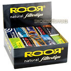 ROOR Natural Wide Roach Tips Multi Quantity Listing