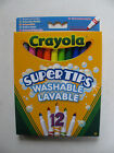Crayola Markers Washable Felt Tip Pens Fine Line Colours Supertips Kids Fun BNIB