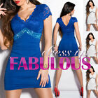 NEW SEXY 8-10 WOMEN'S MINI DRESS COCKTAIL EVENING FORMAL CLUBBING WEAR CLOTHES