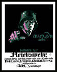 Classic German Recruitment Poster Join the Reichswehr  Reproduction A3, A2