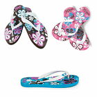 URBAN BEACH FLOWER BURST GIRLS F FLIP FLOPS 10 -2  sandals,beach