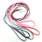 POP Pet Puppy Supply Dog Cat PU Leather Leash Collar Long Smooth Various Color