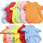 Pet Dog Puppy Supply POLO T Shirt Cotton Clothes Vest Summer Soft Costume New