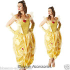 C891 Licensed Beauty and the Beast Belle Disney Fairytale Fancy Adult Costume RB