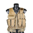 Newest Men's Camoflage Tactical Vest CS Vest Outdoor Sport Waistcoat 5 Color