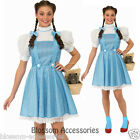 C931RB Licensed Wizard of Oz Dorothy Fancy Dress Halloween Adult Costume
