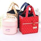 New Stay Warm Collection Lunch Tote Bags ladies nylon with tinfoil Lunchbags CB