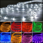 LED WATERPROOF ROPE LIGHT OUTDOOR GARDEN PARTY XMAS STRIP FLEXIBLE PLUG SUPPLIED