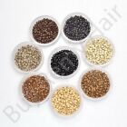 Hair Extension Nano Micro Copper Rings for use with Nano Tips Beads 2.4mm