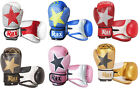 Boxing gloves sparring training fight punch bag mitts muay thai mma 4 -16 oZ RAX