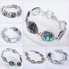 Abalone shell adjustable bracelet 7-8""